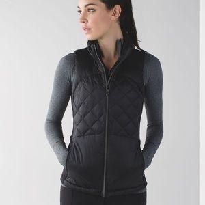 Lululemon Down For A Run Vest Black 6